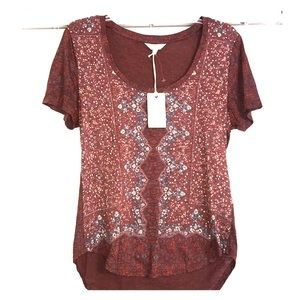 LUCKY BRAND TOP WITH TAGS